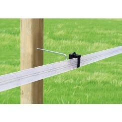 Aislador Z-63 separador tirafondo varilla metálica 20 cms-madera