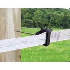 Aislador Z-72 tirafondo separador varilla metálica 10 cms-madera