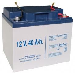 Batería Gel Recargable 12 V. 40 A/h