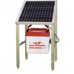Electrificador Super-Impacto-Solar 15 W a batería exterior