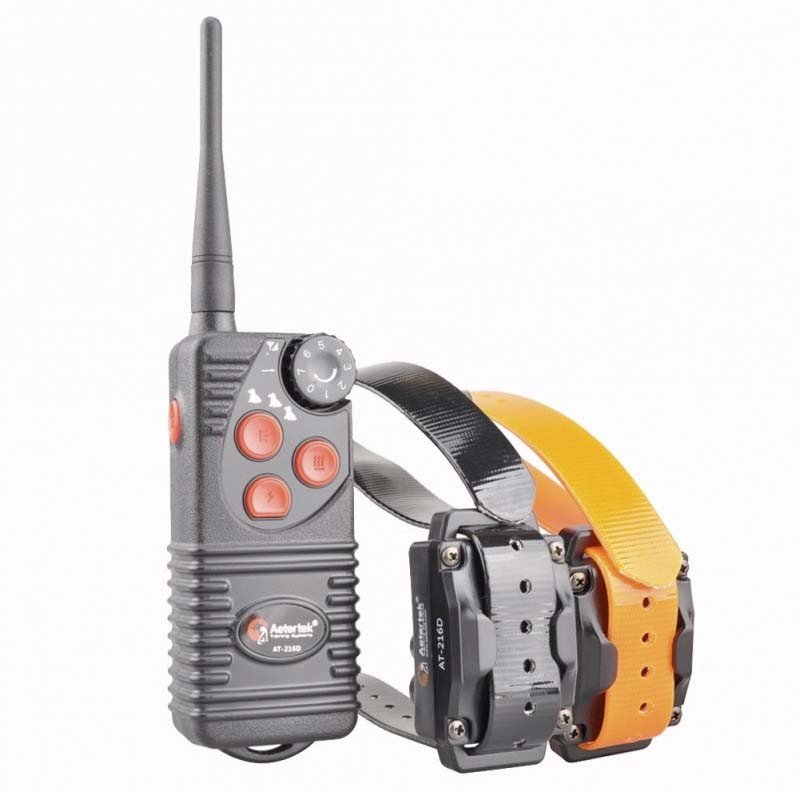 Aetertek AT 216D Para Dos Perros, Collar Adiestramiento Sumergible 500m