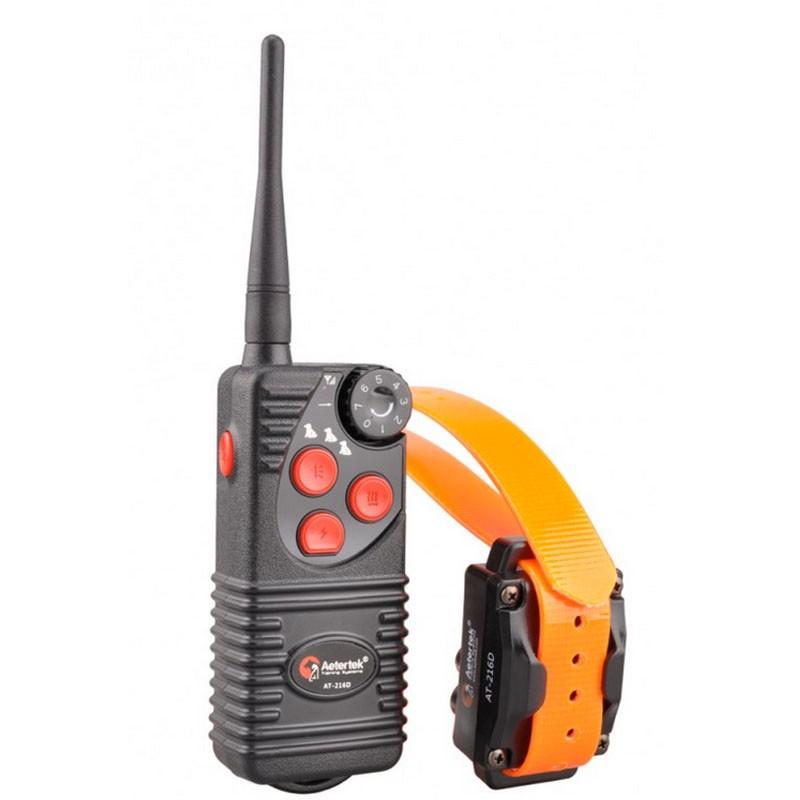 Aetertek AT 216D Collar Adiestramiento Vibración descarga y sonido | Comprar Aetertek AT 216 D Mejor precio