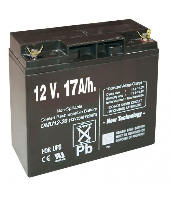 Batería recargable 12 V 17 A/h