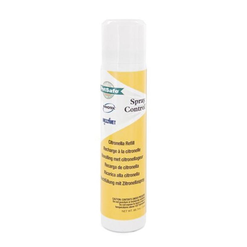 Bote Spray Recarga citronela para Collares antiladridos  Petsafe