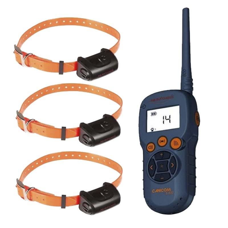 Canicom 5.1500, Collar adiestramiento tres perros Numaxes