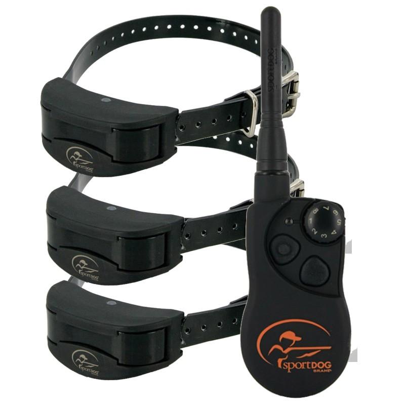 Collar Adiestramiento 3 Perros Sportdog trainer SD-1825 1600 mts, collar eléctrico para tres perros, collar electrónico tres perros