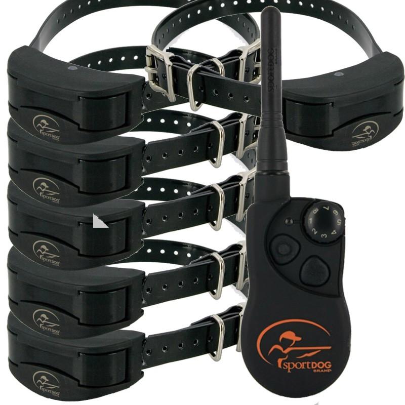 Collar Adiestramiento 6 Perros Sportdog trainer SD-1825 1600 mts, collar eléctrico para seis perros, collar electrónico seis perros