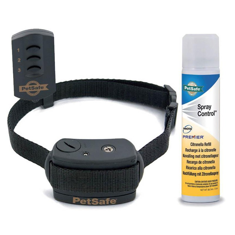 Collar Adiestramiento Spray Petsafe 85m para perros