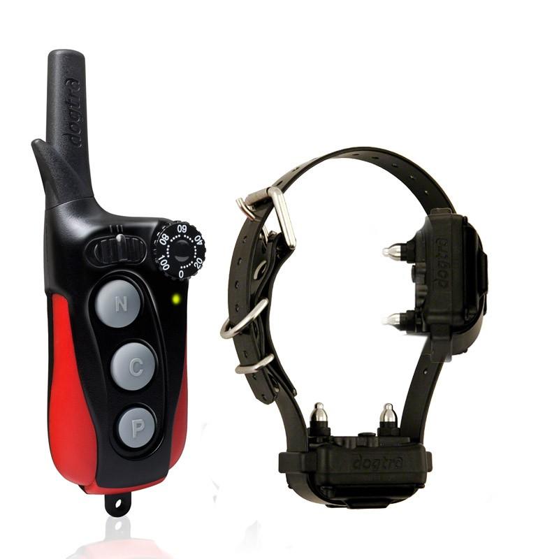 Collar de adiestramiento Dogtra IQ2 con doble petaca más precioso, doble collar eléctrico en una sola correa
