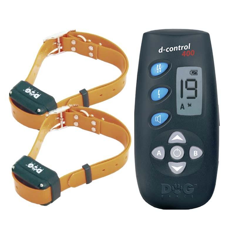 Collar Adiestramiento Electrico para Dos Perros Dogtrace 400