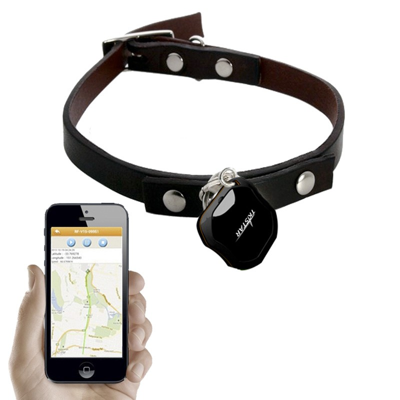 Collar GPS perros iphone