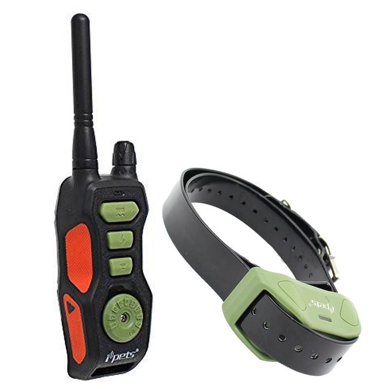 Collar para adiestrar perros de Caza Ipets PET 618 E-Collar Eléctrico 600m, comprar collar perro caza, collar entrenamiento perros caza