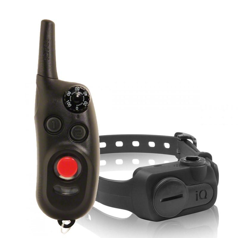 Dogtra iQ CliQ Collar eléctrico adiestramiento 100 niveles con clicker incluido, collar adiestramiento con clicker