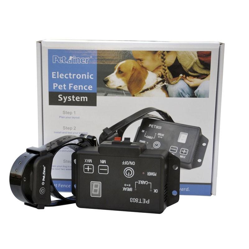 Pastor eléctrico para perros con collar Antifugas PET 803  | Comprar pastor eléctrico mejor precio