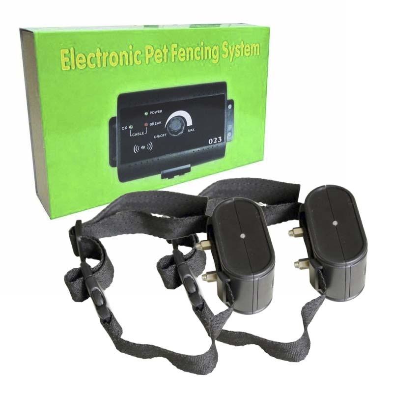 valla invisible para dos perros eléctrica Pet Fencing System 023
