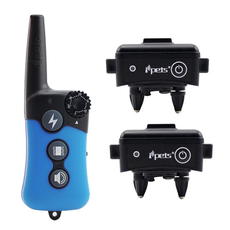 Petrainer Ipets PET 619-2 Doble Collar Adiestramiento dos perros , collar electrico para dos perros