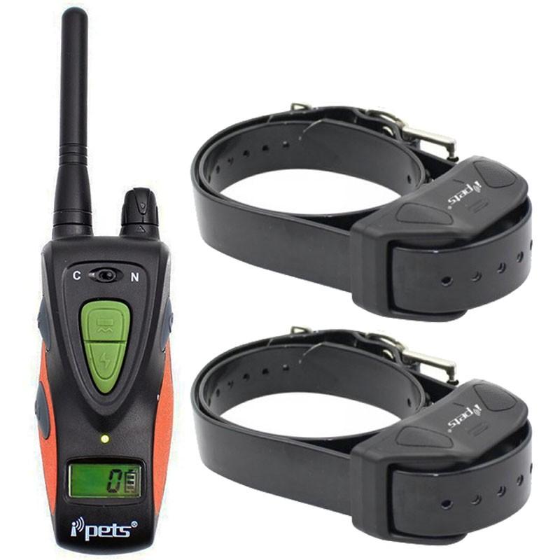 Petrainer PET617 E-2 Collar adiestrar 2 Perros de Caza Recargable y sumergible