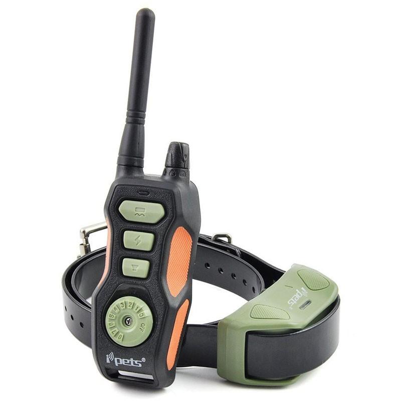 Petrainer PET618 E Collar de adiestramiento Caza hasta 3 perros 600m | Comprar Ipets 618E