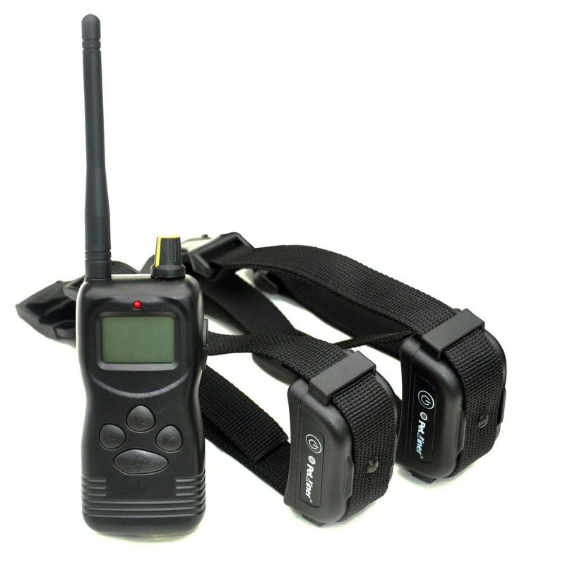 Petrainer PET900B2 E-Collar adiestramiento profesional dos perros 1000m
