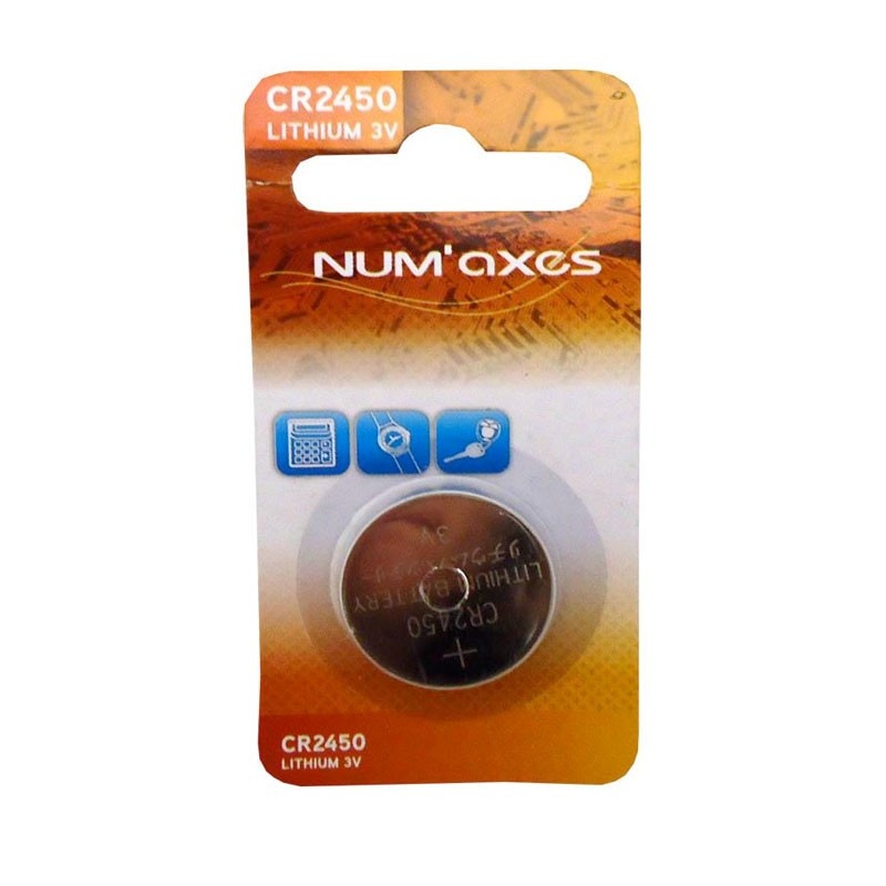 Pila  Num'axes  CR2450 canicom para collar adiestramiento