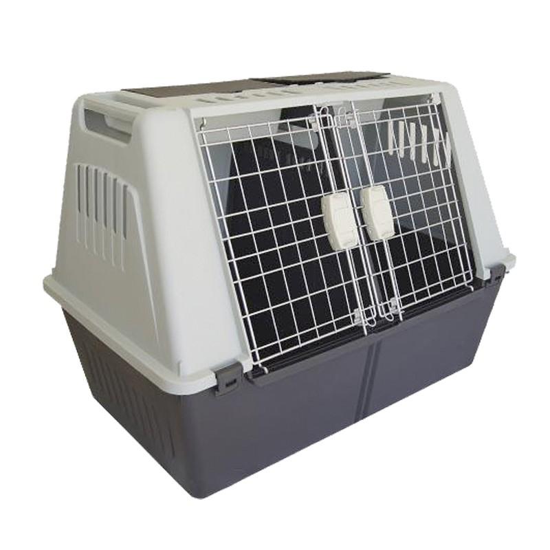 Transportin para perros 82cm adaptado para porton trasero, transportin para perro pequeño en coche, transportin coche perros pequeños