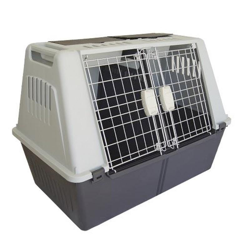 Transportin para perros grandes 100cm adaptado para porton trasero coche