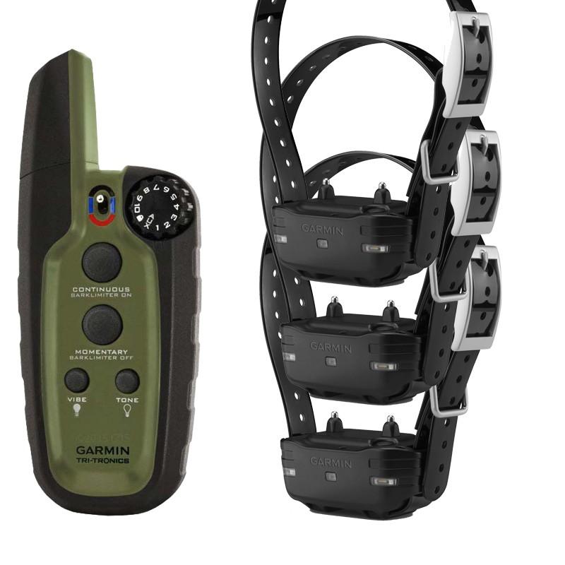Triple Garmin Sport PRO™ tres collares adiestramiento 3 perros con collares eléctricos de entrenamiento
