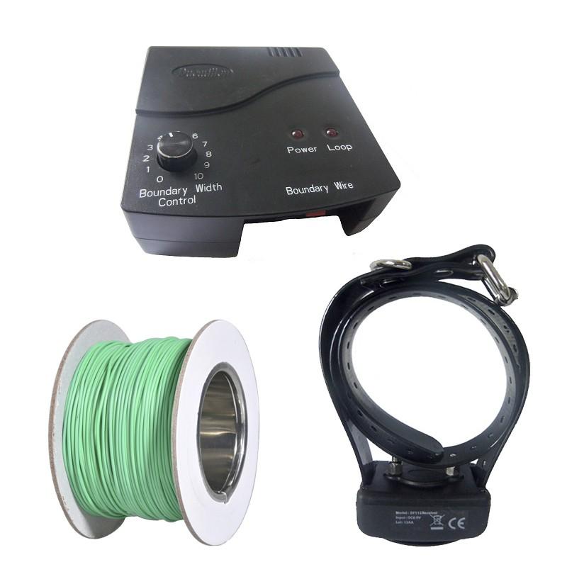 Vallas eléctricas invisibles para perros DF-112 collar Antifugas, comprar valla eléctrica perro barata, comprar valla antifugas, precio valla invisible