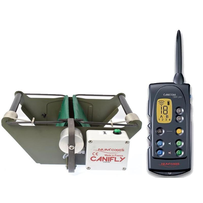 Venta Kit Jaula lanzadera CaniFly con mando Canicom 1500 PRO compra precio barato