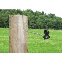 Aislador Z-60 tirafondo separador varilla metálica-madera