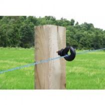 Aislador de tirafondo para madera, para uso de cable, hilo, cuerda y cintas de hasta 10 mm. Aislador más fuerte que su predecesor Z-2. Bolsa de 25 unidades.