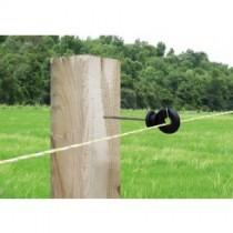 Aislador Z-70 tirafondo separador varilla metálica 10 cms- madera