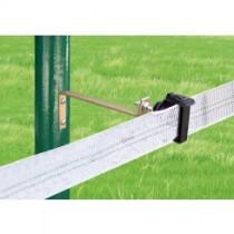 Aislador Z-62 tirafondo pletina separador 21 cms-metal