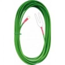 Salida línea aislante alta tensión, 25m cable