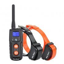 Collar adiestramiento 2 perros resistente al agua y bateria Petrainer  PET916-2 E