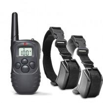 Collar adiestramiento eléctrico para 2 perros X821-C LCD