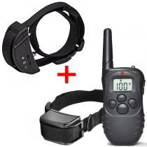 Collar adiestramiento eléctrico para perros + Collar Antiladridos Petrainer Collares eléctricos baratos