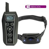 Collar adiestramiento vibración educación sin descargas 600 metros   collar para perros sordos   collar para adiestrar perros con vibración sonido y luz