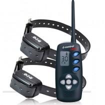 Dogtrace 1600 Dos perros Collar Adiestramiento caza doble collar