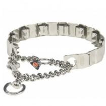 Hs sprenger Neck Tech Collar metálico adiestramiento suave con pinchos de castigo, collar adiestramiento metal, collar pinchos para adiestrar perros que tiran de la correa