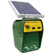 Pastor eléctrico Zerko-Recargable Solar cercado electrónico para aniamles | Pastor eléctrico con placa solar para Caballos, vacas, cerdos, ovajss, cabras y jabalíes.