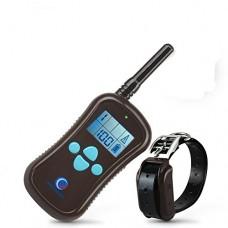 Petinccn P680 Collar eléctrico adiestramiento batería y pantalla LCD 600 Metros alcance