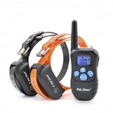 Petrainer PET998 DBB2 E-Collar adiestramiento para 2 perros sumergible