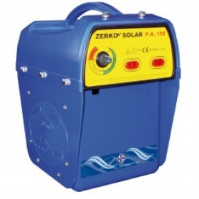 Pastor eléctrico Zerko a batería de 12 voltios fincas grandes