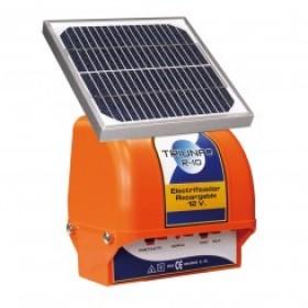 Pastor Triunfo R-10 con placa solar valla eléctrica animales
