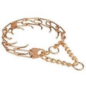 Collar metálico pinchos adiestramiento Ultra-Plus Sprenger - Curogan dorado