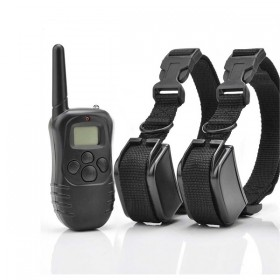 Petrainer PET998D2 Collar eléctrico para dos perros 100 Niveles