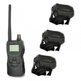Petrainer PET9003 E- tres collares adiestramiento 3 perros 1000m Alcance