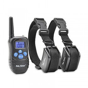 Petrainer PET998DRB2 E-Collar adiestramiento 2 perros resistente al agua