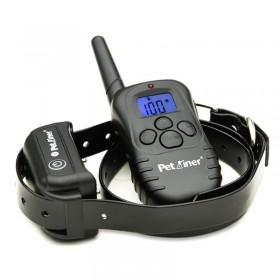 Collar adiestrador de perros electrónico 100 niveles sumergible y recargable